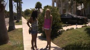 Caroline Receveur et Ayem dans Hollywood Girls - 31/10/12 - 06