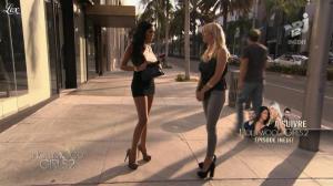 Caroline Receveur et Nabilla Benattia dans Hollywood Girls - 30/10/12 - 09