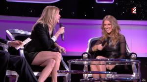 Céline Dion et Véronic Dicaire dans le Grand Show vu des Coulisses - 04/01/13 - 017