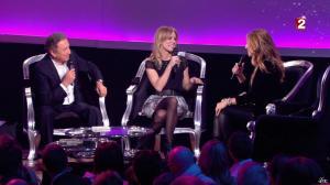 Céline Dion et Véronic Dicaire dans le Grand Show vu des Coulisses - 04/01/13 - 020