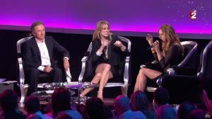 Céline Dion et Véronic Dicaire dans le Grand Show vu des Coulisses - 04/01/13 - 056