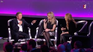 Céline Dion et Véronic Dicaire dans le Grand Show vu des Coulisses - 04/01/13 - 079