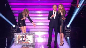 Céline Dion et Véronic Dicaire dans le Grand Show vu des Coulisses - 04/01/13 - 107
