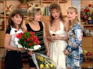 Christiane Jean, Karen Cheryl, Patricia Elig et Marie Chevalier dans les Nouvelles Filles d'a Cote - 07/07/12 - 12