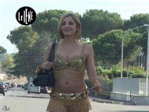 Elena Di Cioccio dans le Iene - 02/12/08 - 10