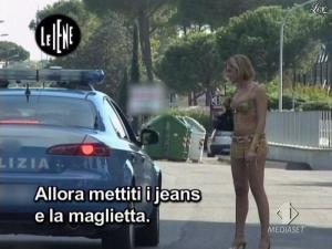 Elena Di Cioccio dans le Iene - 02/12/08 - 11