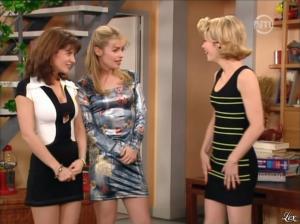 Karen Cheryl, Patricia Elig et Marie Chevalier dans les Nouvelles Filles d'a Cote - 07/07/12 - 06