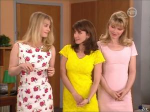 Karen Cheryl, Patricia Elig et Marie Chevalier dans les Nouvelles Filles d'a Cote - 07/07/12 - 17