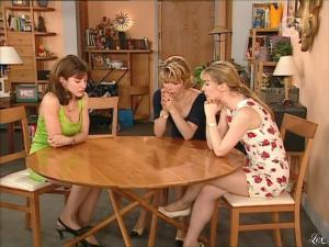 Karen Cheryl, Patricia Elig et Marie Chevalier dans les Nouvelles Filles d'a Cote - 08/07/12 - 15