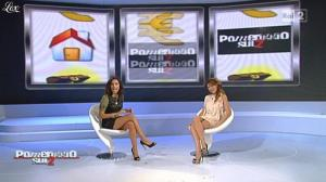 Laura Santaguida et Caterina Balivo dans Pomeriggio Sul Due - 19/10/10 - 13