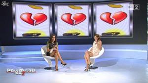 Laura Santaguida et Caterina Balivo dans Pomeriggio Sul Due - 19/10/10 - 14