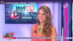Laury Thilleman dans Vous Etes En Direct - 29/08/12 - 08