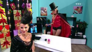 Les Gafettes, Fanny Veyrac et Nadia Aydanne dans le Juste Prix - 31/10/12 - 06
