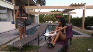 Nabilla Benattia et Laura Coll dans Hollywood Girls - 26/10/12 - 10