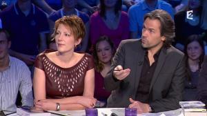 Natacha Polony dans On n'est pas Couché - 03/11/12 - 04
