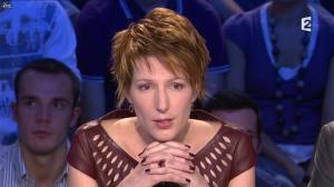 Natacha Polony dans On n'est pas Couché - 03/11/12 - 11