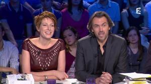 Natacha Polony dans On n'est pas Couché - 03/11/12 - 14