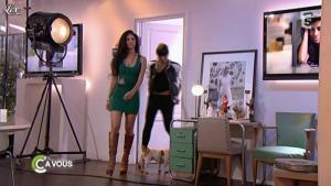 Nicole Scherzinger dans C à Vous - 01/06/11 - 01