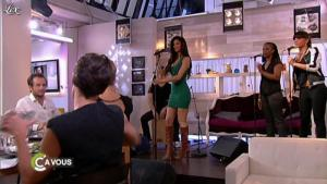 Nicole Scherzinger dans C à Vous - 01/06/11 - 02