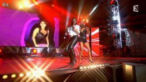 Sabrina Salerno et Samantha Fox dans Ete Party 80 à Dax - 22/08/11 - 03