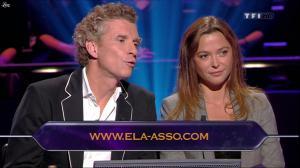 Sandrine Quétier dans Qui Veut Gagner des Millions - 27/08/11 - 02