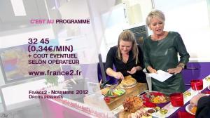 Sophie Davant dans c'est au Programme - 21/11/12 - 202