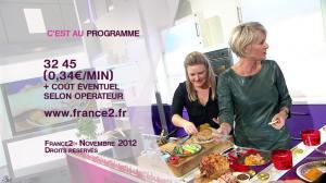 Sophie Davant dans c'est au Programme - 21/11/12 - 204