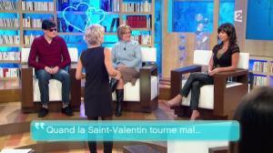 Sophie Davant et Patricia dans Toute une Histoire - 10/02/11 - 08