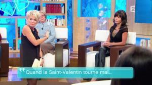 Sophie Davant et Patricia dans Toute une Histoire - 10/02/11 - 10