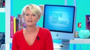 Sophie Davant dans Toute une Histoire - 15/10/12 - 001