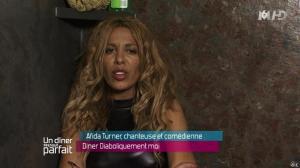 Afida Turner dans Un Diner Presque Parfait - 03/01/14 - 10