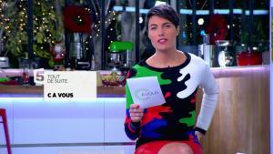Alessandra Sublet dans C à Vous - 10/12/13 - 02