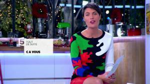 Alessandra Sublet dans C à Vous - 10/12/13 - 03