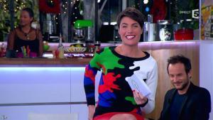 Alessandra Sublet dans C à Vous - 10/12/13 - 04