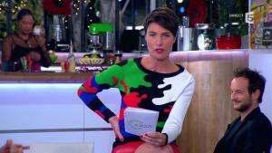 Alessandra Sublet dans C à Vous - 10/12/13 - 07