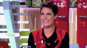 Alessandra Sublet dans C à Vous - 31/12/13 - 03