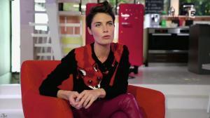 Alessandra Sublet dans C à Vous - 31/12/13 - 04