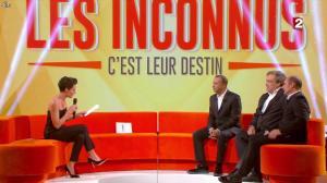 Alessandra Sublet dans les Inconnus c'est leur Destin - 28/12/13 - 02