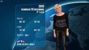 Evelyne Dhéliat à la Météo de 20h - 12/12/13 - 02