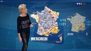 Evelyne Dhéliat à la Météo de 20h - 15/10/13 - 01