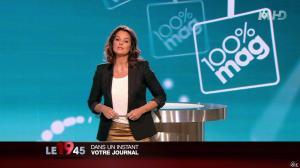 Faustine Bollaert dans 100 Mag - 06/01/14 - 08