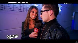 Karine Ferri dans The Voice - 02/02/13 - 10