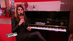 Karine Ferri dans The Voice - 02/02/13 - 11
