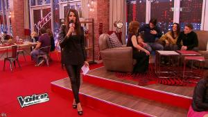 Karine Ferri dans The Voice - 02/02/13 - 12