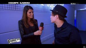 Karine Ferri dans The Voice - 09/02/13 - 07