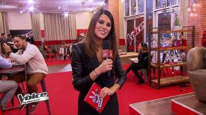 Karine Ferri dans The Voice - 09/02/13 - 09