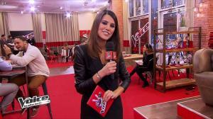 Karine Ferri dans The Voice - 09/02/13 - 09