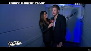 Karine Ferri dans The Voice - 09/02/13 - 11