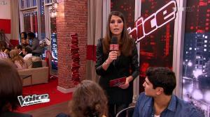Karine Ferri dans The Voice - 09/03/13 - 08