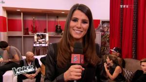 Karine Ferri dans The Voice - 09/03/13 - 10